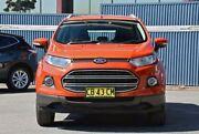 2014 Ford Ecosport BK Titanium Orange 5 Speed Manual Wagon Tweed Heads Tweed Heads Area Preview