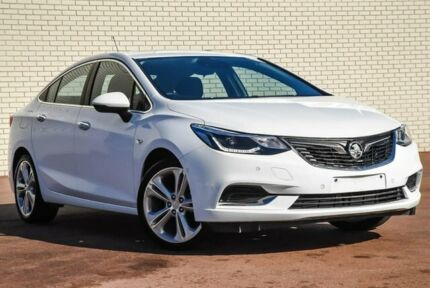 2018 Holden Astra BL MY18 LTZ White 6 Speed Sports Automatic Sedan Morley Bayswater Area Preview