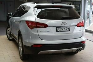 2013 Hyundai Santa Fe DM Highlander CRDi (4x4) Silver 6 Speed Automatic Wagon Belconnen Belconnen Area Preview