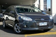 2012 Ford Focus LW MKII Trend PwrShift Midnight Sky 6 Speed Sports Automatic Dual Clutch Sedan Mornington Mornington Peninsula Preview
