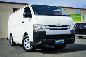 2015 Toyota HiAce TRH201R LWB White 6 Speed Automatic Van Coopers Plains Brisbane South West Preview