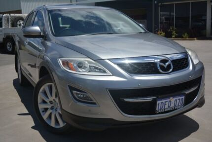 2009 Mazda CX-9 Luxury Silver 6 Speed Auto Activematic Wagon Welshpool Canning Area Preview