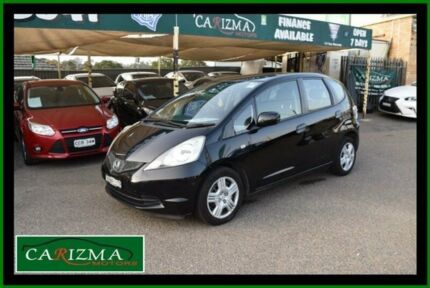 2009 Honda Jazz GE VTi Black 5 Speed Automatic Hatchback Seven Hills Blacktown Area Preview