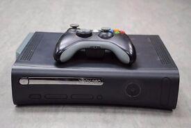 Xbox 360 Elite Black with One Controller £65