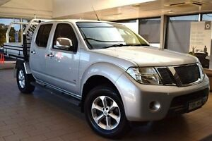 2013 Nissan Navara D40 MY12 ST-X (4x4) Silver 7 Speed Automatic Dual Cab Pick-up Belconnen Belconnen Area Preview