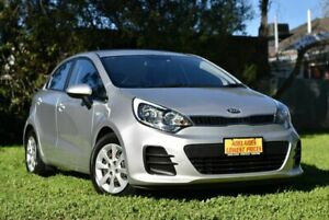 2015 Kia Rio UB MY15 S Silver 4 Speed Sports Automatic Hatchback Enfield Port Adelaide Area Preview