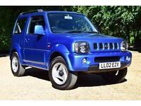 Suzuki Jimny 1.3 JLX 1.3 Rare Special Edition Blue 3 Door