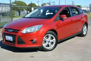 2011 Ford Focus LW Trend Red 6 Speed Automatic Hatchback Kewdale Belmont Area Preview