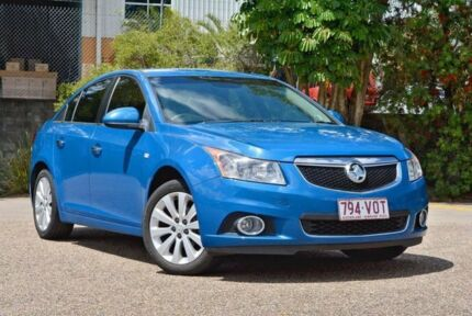 2013 Holden Cruze JH Series II MY13 CDX Blue 6 Speed Sports Automatic Sedan