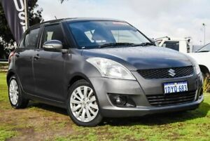 2012 Suzuki Swift FZ GLX Grey 4 Speed Automatic Hatchback Wangara Wanneroo Area Preview