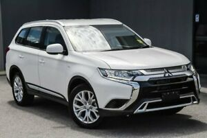 2020 Mitsubishi Outlander ZL MY20 ES AWD White 6 Speed Constant Variable Wagon Osborne Park Stirling Area Preview