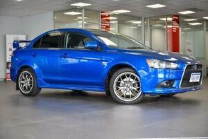 2008 Mitsubishi Lancer CJ MY09 Ralliart TC-SST Blue 6 Speed Sports Automatic Dual Clutch Sedan