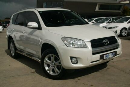 2011 Toyota RAV4 White Manual Wagon Blackburn Whitehorse Area Preview