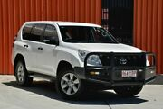 2014 Toyota Landcruiser Prado KDJ150R MY14 GX White 6 Speed Manual Wagon Molendinar Gold Coast City Preview