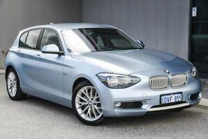 2012 BMW 118i F20 118i Blue 8 Speed Sports Automatic Hatchback Osborne Park Stirling Area Preview
