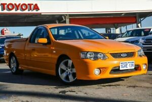 2006 Ford Falcon BF XR8 Orange 6 Speed Manual Utility Osborne Park Stirling Area Preview
