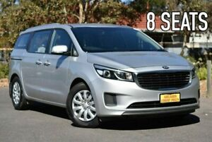 2017 Kia Carnival YP MY18 S Silver 6 Speed Sports Automatic Wagon Melrose Park Mitcham Area Preview