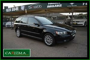 2006 Volvo V50 MS 2.4 Black 5 Speed Auto Geartronic Wagon Toongabbie Parramatta Area Preview