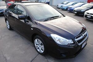 2013 Subaru Impreza G4 MY13 2.0i Lineartronic AWD Red 6 Speed Constant Variable Sedan Hyde Park Townsville City Preview