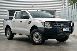 2015 Ford Ranger PX XL Double Cab White 6 Speed Manual Utility Berwick Casey Area Preview