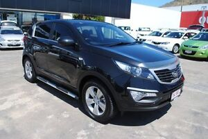 2013 Kia Sportage SL Series II MY13 SI Black 6 Speed Sports Automatic Wagon Townsville Townsville City Preview