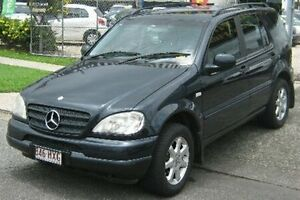 2000 Mercedes-Benz ML430 W163 MY2000 Luxury Blue 5 Speed Sports Automatic Wagon Bungalow Cairns City Preview