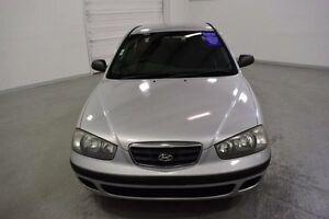 2001 Hyundai Elantra XD GL Silver 5 Speed Manual Sedan Moorabbin Kingston Area Preview