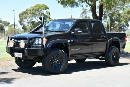 2009 Holden Colorado RC MY09 LX Crew Cab Black 5 Speed Manual Utility Brighton Holdfast Bay Preview