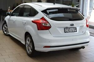 2013 Ford Focus LW MK2 Sport White 6 Speed Automatic Hatchback Belconnen Belconnen Area Preview