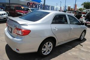 2012 Toyota Corolla ZRE152R MY11 Ascent Sport Silver 4 Speed Automatic Sedan Townsville Townsville City Preview