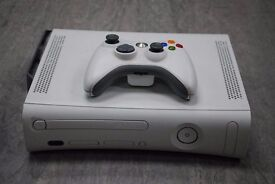 Xbox 360 White HDMI 60GB with One Controller £60