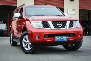 2010 Nissan Pathfinder R51 MY08 TI Red 5 Speed Sports Automatic Wagon Coopers Plains Brisbane South West Preview