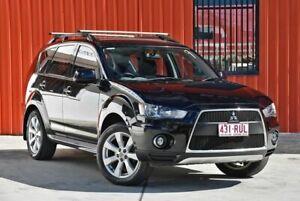 2011 Mitsubishi Outlander ZH MY11 Activ 2WD Black 5 Speed Manual Wagon Molendinar Gold Coast City Preview