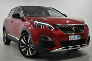 2020 Peugeot 3008 P84 MY20 GT Line SUV Red 6 Speed Sports Automatic Hatchback Launceston Launceston Area Preview