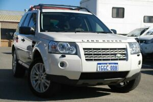 2010 Land Rover Freelander 2 LF 10MY Si6 SE White 6 Speed Sports Automatic Wagon