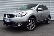 2011 Nissan Dualis J10 Series II MY2010 Ti X-tronic AWD Silver 6 Speed Constant Variable Hatchback Epping Whittlesea Area Preview
