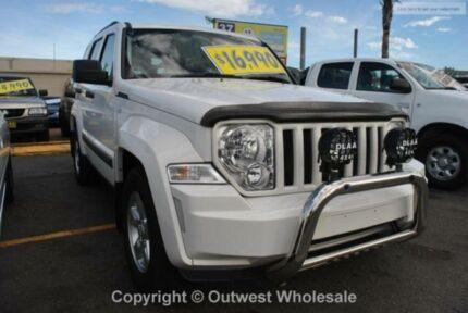 2009 Jeep Cherokee SPORT White Automatic Wagon Minchinbury Blacktown Area Preview