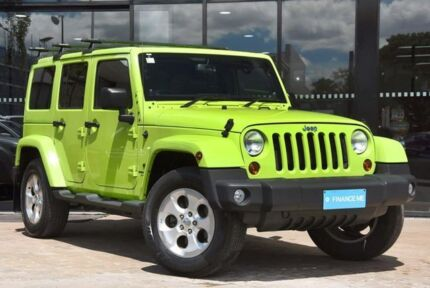 2012 Jeep Wrangler JK MY2013 Unlimited Overland Green 5 Speed Automatic Hardtop