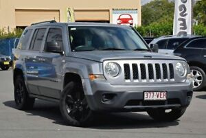 2014 Jeep Patriot MK MY14 Blackhawk CVT Auto Stick 4x2 Silver 6 Speed Constant Variable Wagon Chinderah Tweed Heads Area Preview