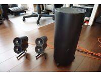 Top of the range Logitech speaker system. boxed.