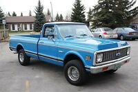 Vintage classic 1971, 4 x 4 Chevy Cheyenne. Only 13 in existence