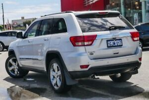 2011 Jeep Grand Cherokee WK Overland (4x4) Silver 5 Speed Automatic Wagon