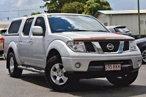 2010 Nissan Navara D40 ST Brilliant Silver 6 Speed Manual Utility Beaudesert Ipswich South Preview