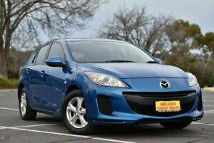 2012 Mazda 3 BL10F2 Neo Blue 6 Speed Manual Hatchback Enfield Port Adelaide Area Preview