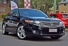 2008 Honda Accord Euro CU Luxury Black 5 Speed Automatic Sedan Taringa Brisbane South West Preview