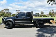 2006 Holden Rodeo RA MY06 LX Crew Cab Black 5 Speed Manual Cab Chassis Brighton Holdfast Bay Preview