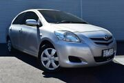 2007 Toyota Yaris NCP93R YRS Silver 5 Speed Manual Sedan Epping Whittlesea Area Preview