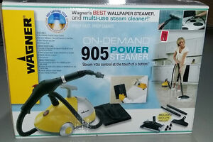Steam Cleaner and Sanitizer... Wagner On Demand 905