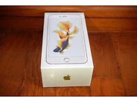 iphone 6s gold 16GB brand new boxed 07932328605