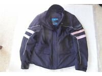 Ladies Frank Thomas Aqua 3 in 1 motorcycle jacket